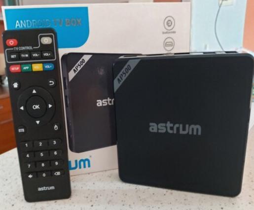 Astrum AP500 Android TV Box