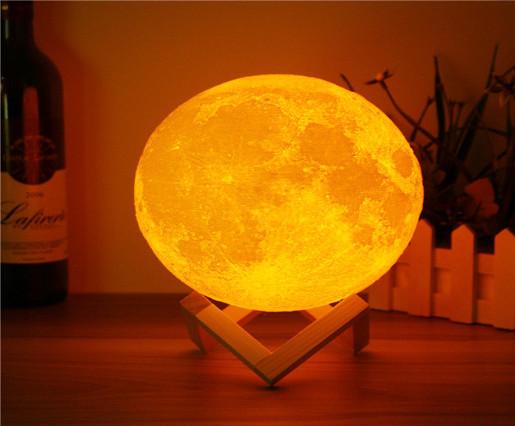 Moon Lamp 3D